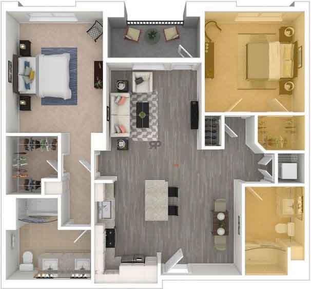 Private floorplan